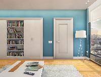 1 Panel Textured Door