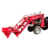 Mini Tractor Mounted High Dump Loader