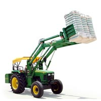 Tractor Mounted Cotton Bale Loader