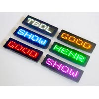 Led  Name Tag