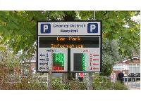 Parking Display Board