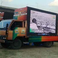 Truck Led Screen, New Led Van, Latest Led Van