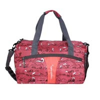 Justcraft Olive Red Duffle Bags