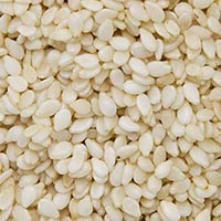 White Sesame Seeds 02