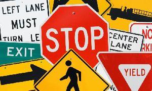 Traffic Sign Board 02