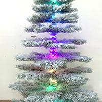 7' Flocking Tree