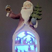 Santa with LED Light
