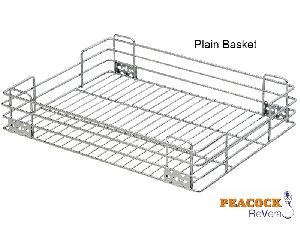 Stainless Steel Kitchen Plain Basket