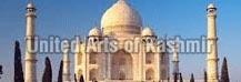 Kashmir with Taj Mahal