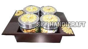 Jar with Platters