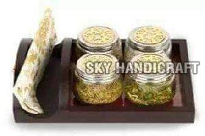 Jar with Serving Tray