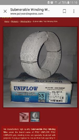 Submersible Poly Winding Wire UNIFLOW