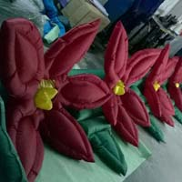 Decoration inflatable flower chain
