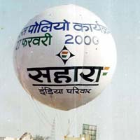 Inflatable  sky advertising balloon
