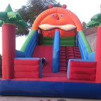 Inflatable sliding balloon