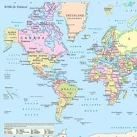 20x30 Educational Maps