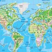 20x30 World Natural Maps