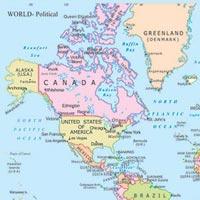 20x30 World Political Maps