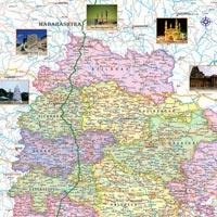 22x28 Telangana Maps