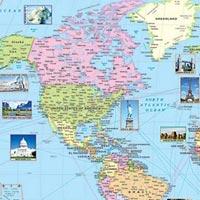 30x40 World Maps