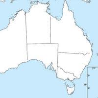 Australia Political Maps