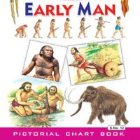 Small Cut & Paste Early Man Stickers