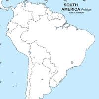 South America Political Maps