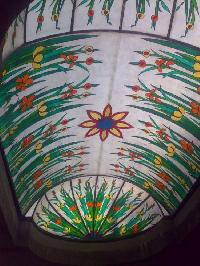 Round Fiberglass Domes