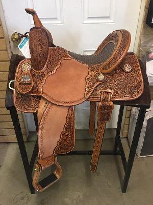 Barrel Saddle Western Saddle