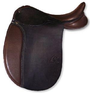 Custom English Dressage Saddle