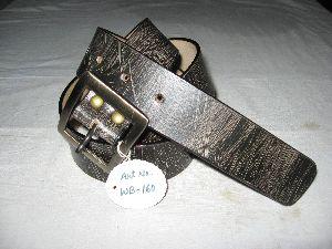 Genuine Leather Belt 01