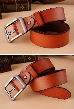 Genuine Leather  Men Belt