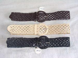 Ladies Belt Knitting