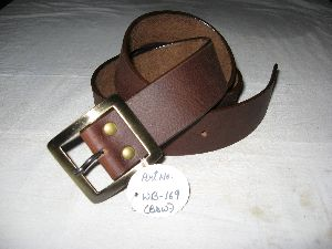 Men Soft Leather Belt