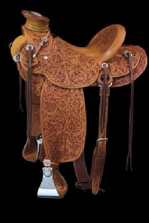 Western Tack Western Full Seat and Carving Saddle