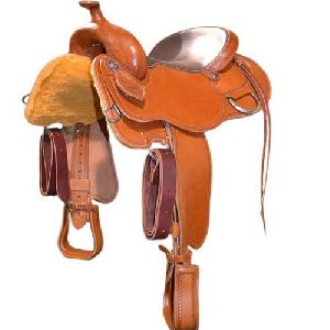Western Tan Saddle