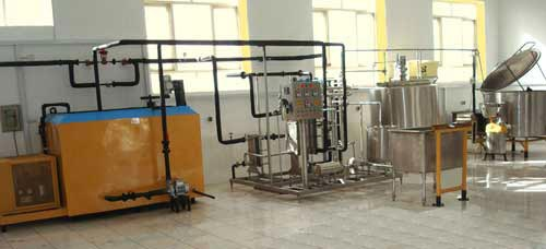 Liquid Milk Processing Plant 08