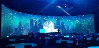 Curved LED Video Wall Screens