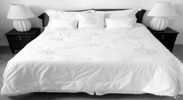 white bed sheets. We Are Offering Plain White Bedsheets In Alluring Patterns And Sizes To Customers The Domestic Market. Our Soft Skin Bed Sheets