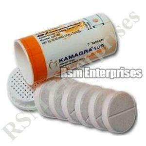 100 mg Kamagra Effervescent Tablets