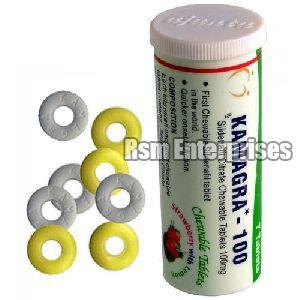 100 mg Kamagra Polo Tablets