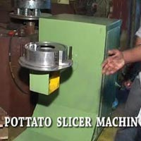 Potato Slicer Machine
