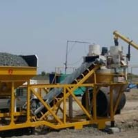Direct Feeding Concrete Pump Mobile Mixing Plant (GEPL CBC - 20)