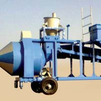 Inline Hopper Mobile Plant with Reversible Mixer (GEPL IF RMD - 600)