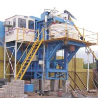Static Concrete Batching Mixing Plant with Pan Type Mixer (GEPL SBH -30)