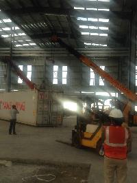 Unloading Crane Rental 04