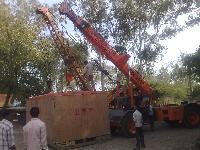 Unloading Crane Rental 06