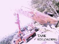 Unloading Crane Rental 09