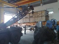 Unloading Crane Rental 12