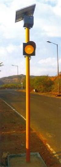 Solar Traffic Blinker 02